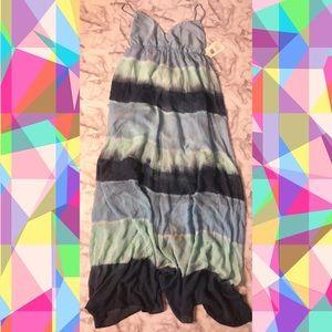 NWT Silk Gypsy Maxi Dress